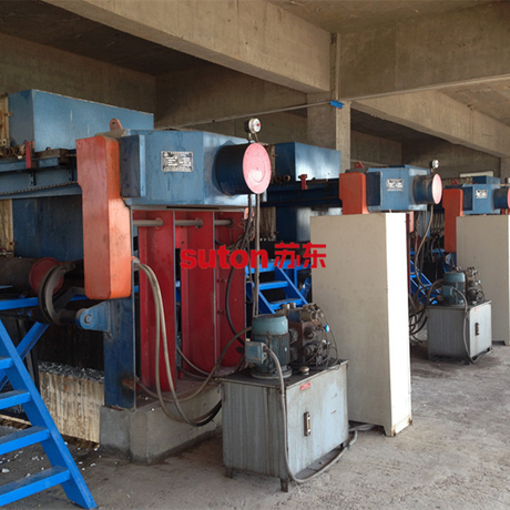 鋼廠污水、鋼鐵廢水壓濾機